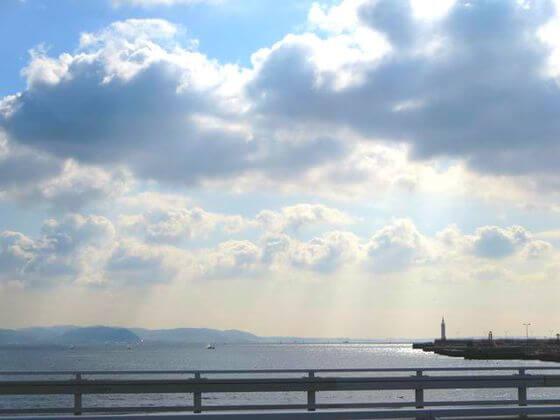 江ノ島弁天橋 景色