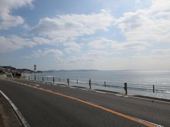 鎌倉高校前 道路