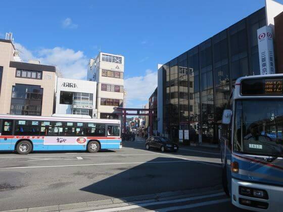 鎌倉駅東口 バス乗り場