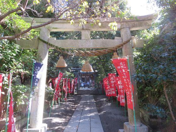 八雲神社 山門