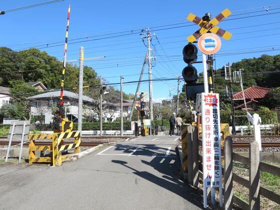 北鎌倉駅 踏切