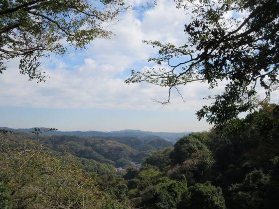 葛原岡神社 景色