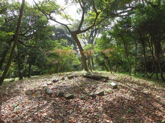 源氏山公園 山頂