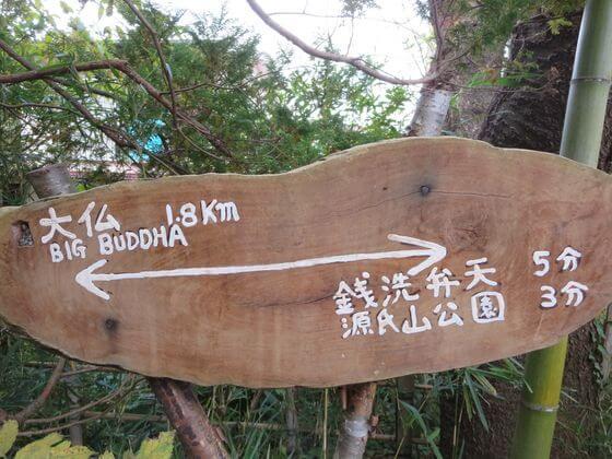 大仏ハイキングコース 案内板2