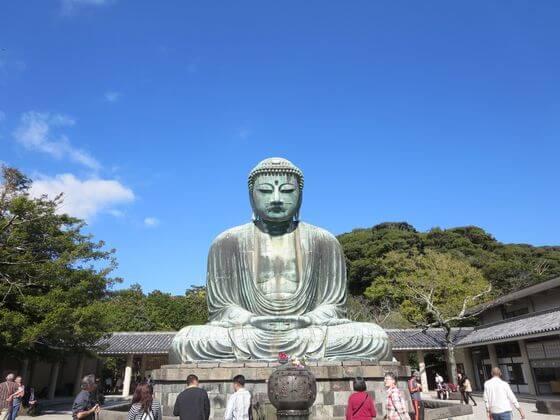 鎌倉大仏 正面
