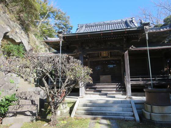 鎌倉 法性寺 奥の院