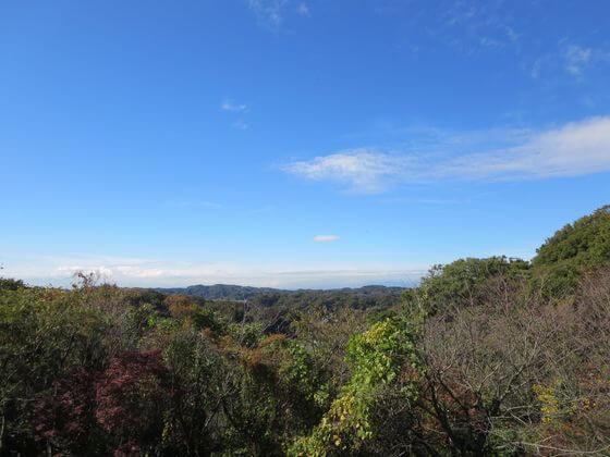 鎌倉市子ども自然ふれあいの森 関東の富士見百景