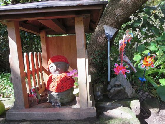 鎌倉市子ども自然ふれあいの森 お地蔵さん