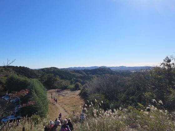 大平山 景色