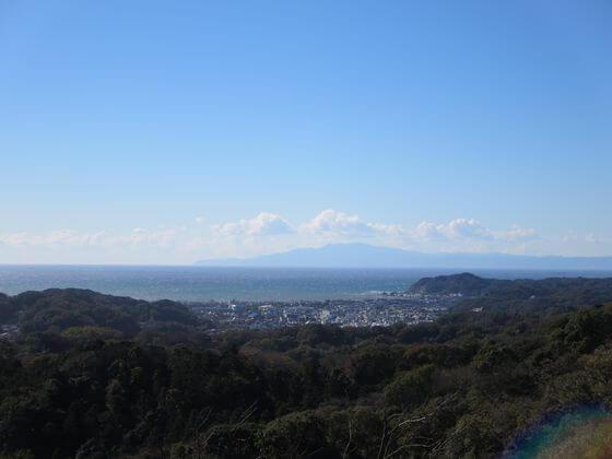 大平山 相模湾 景色