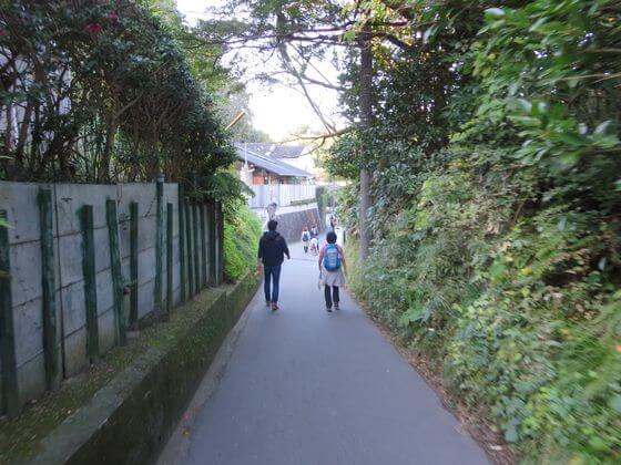 瑞泉寺 道