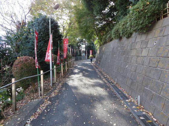 福泉寺 坂道