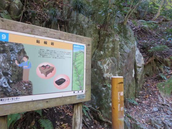 高尾山 硯岩