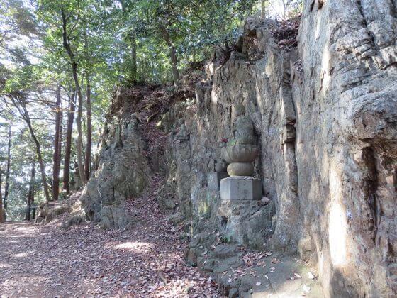 天覧山 十六羅漢像