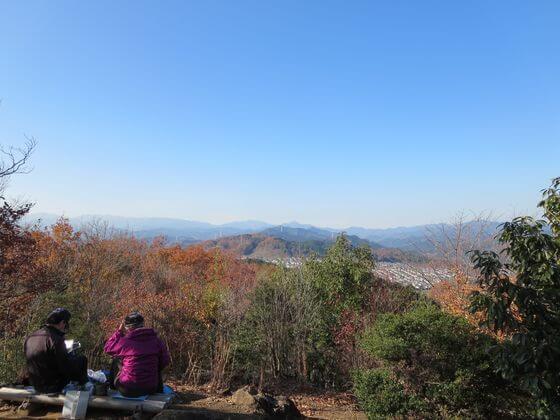 多峯主山 山頂 風景
