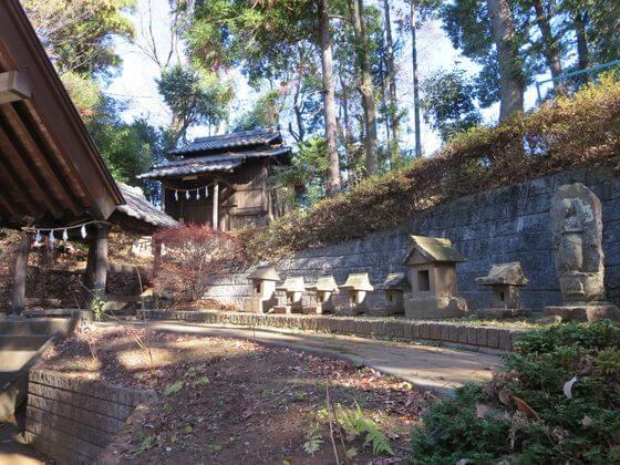 神明神社 鶴川