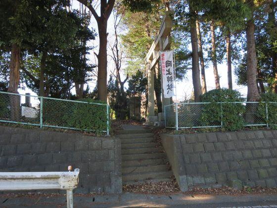 岡上神社 鶴川