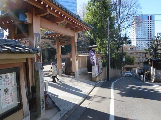 大円寺 山門