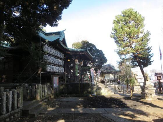小山八幡神社 境内