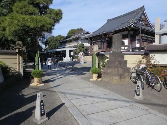 法蓮寺 入口