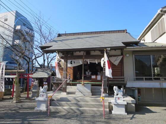 中村天祖神社 本殿