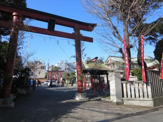 羽田七福いなり 穴守稲荷神社