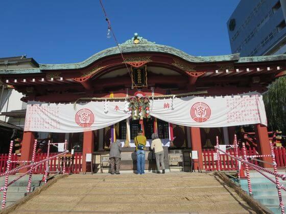 穴守稲荷神社 拝殿