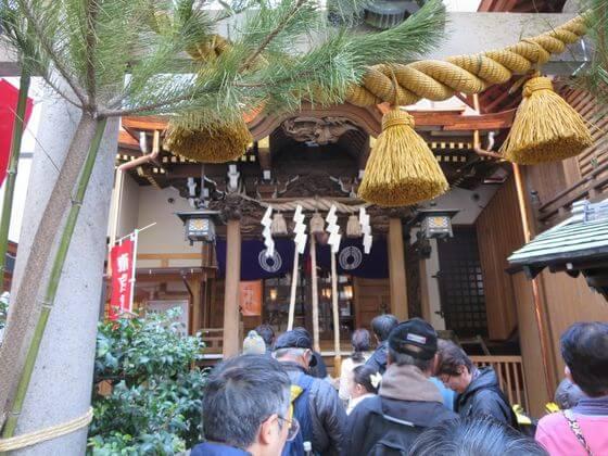 日本橋七福神 小網神社