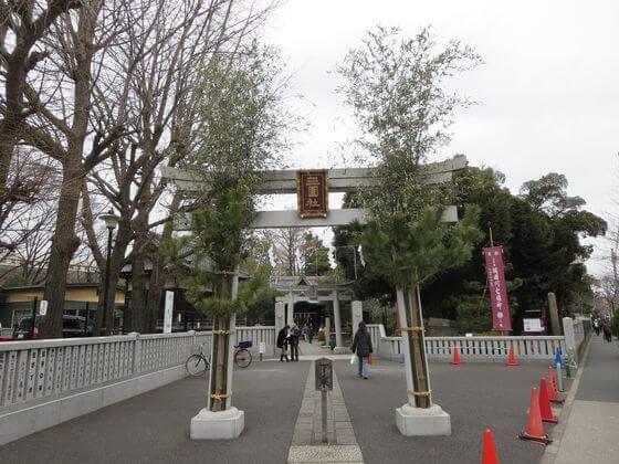 隅田川七福神 三囲神社