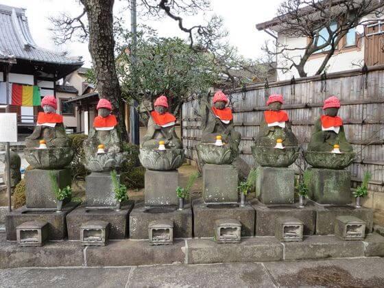 多聞寺 六地蔵座像