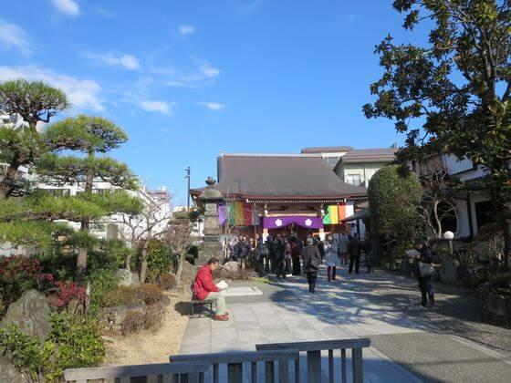 亀戸七福神 東覚寺