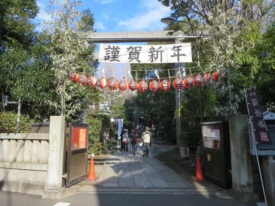 亀戸七福神 天祖神社
