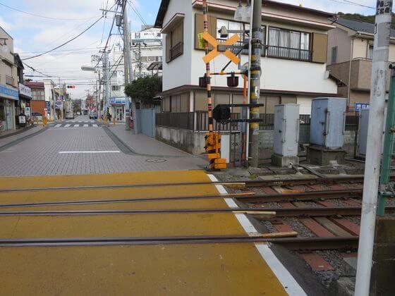 江ノ島駅 線路