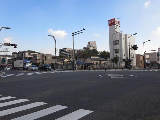 藤沢橋 交差点