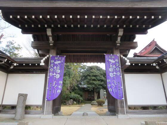 感応院 門