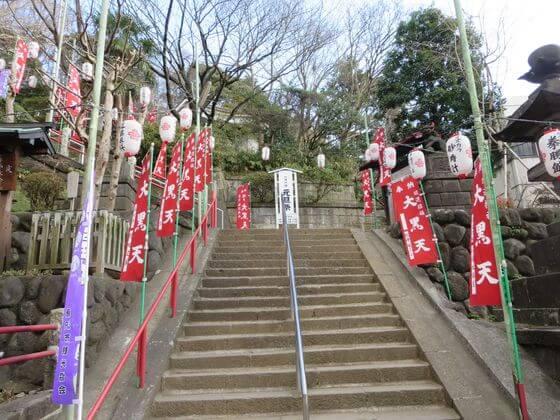 諏訪神社 階段