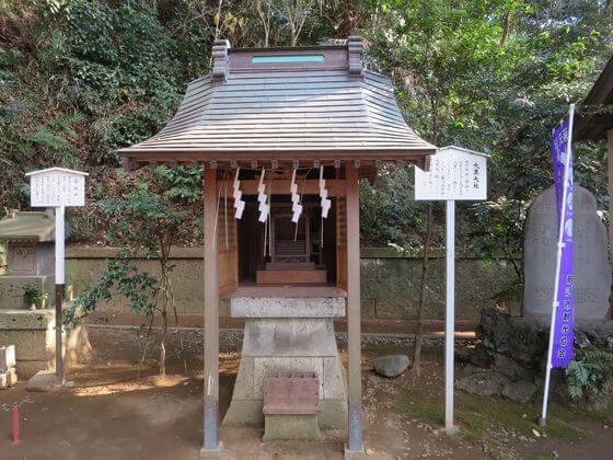 諏訪神社 大黒天社