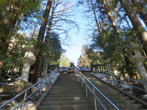 宝登山神社 階段