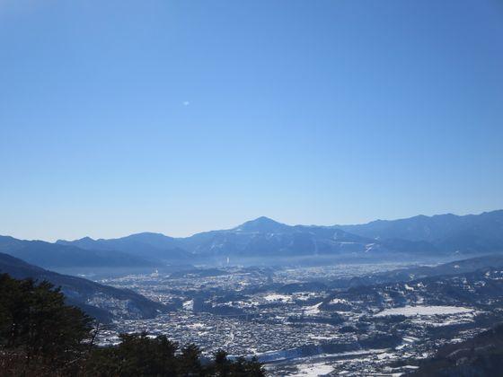 宝登山 風景