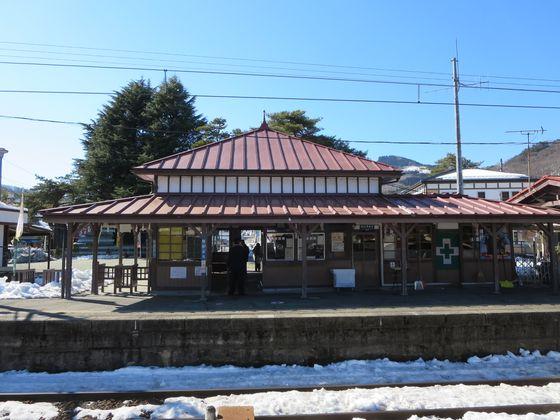 長瀞駅 ホーム