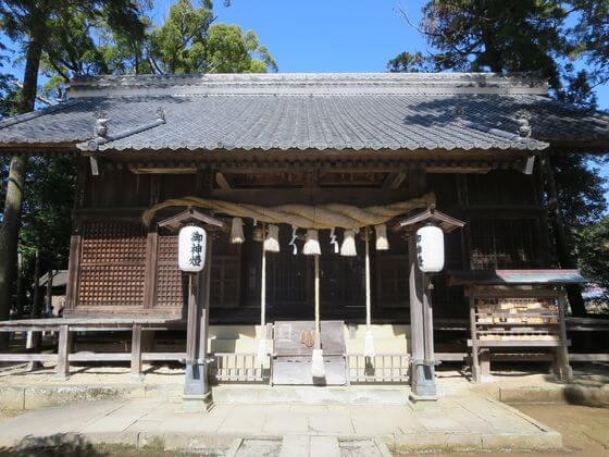 河津来宮神社 拝殿