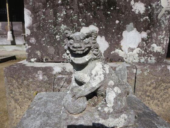 河津来宮神社 小狛犬 右