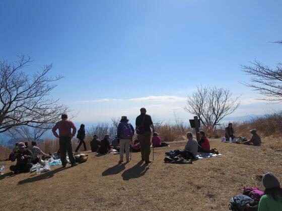 幕山 山頂 景色