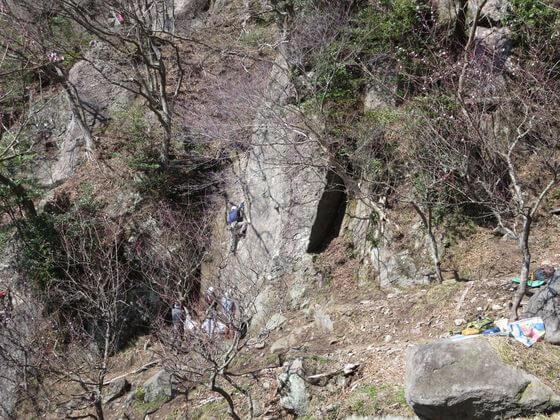幕山 ロッククライミング