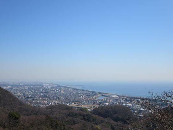 湘南平 テレビ塔 景色