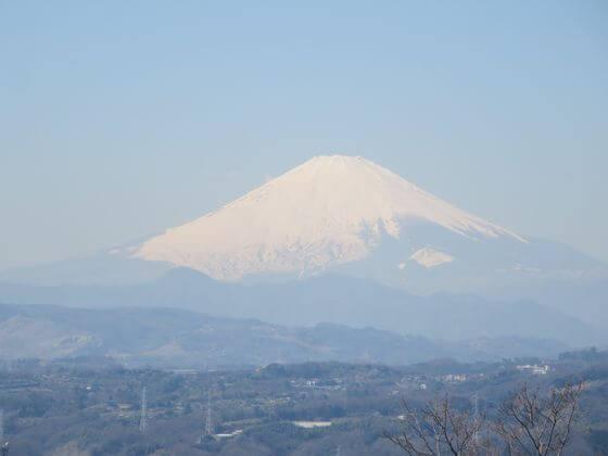 富士山 湘南平