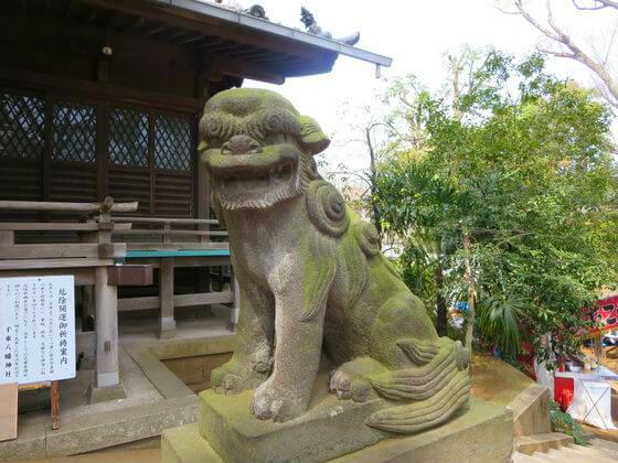 千束八幡神社 狛犬 右