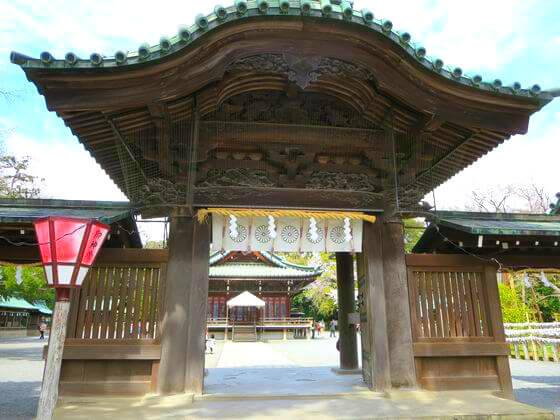 三嶋大社 神門
