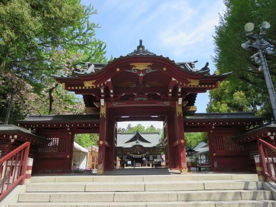 秩父神社の神門