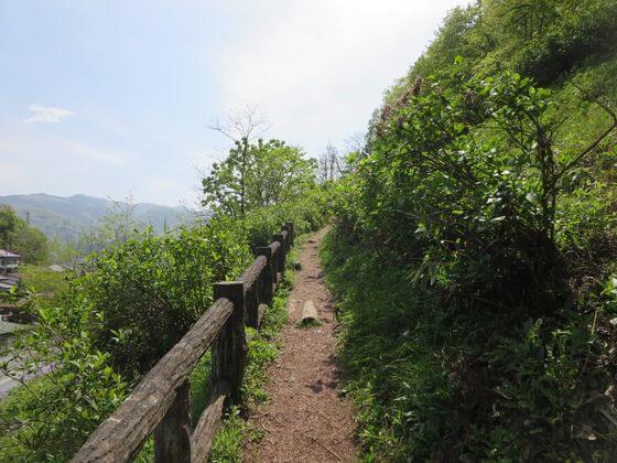 羊山公園 急坂道